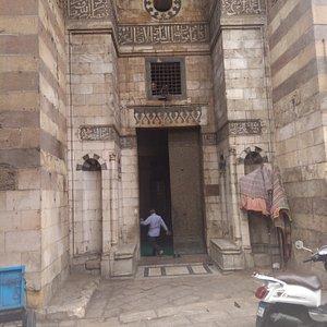 The main door of Khanqah