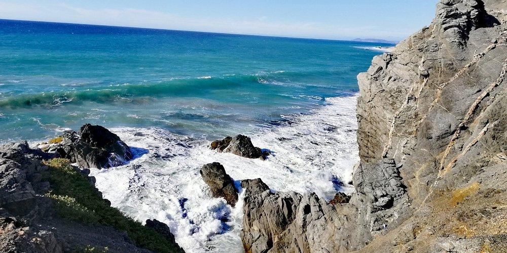 Secret rock beach