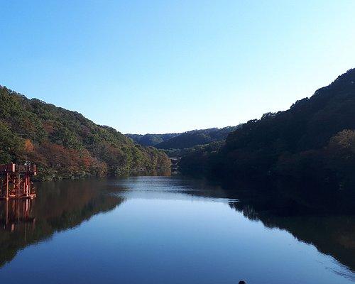 Der See am Ogoto-Dam