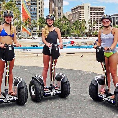 Our second convenient start location in Waikiki near the Hilton Hawaiian Village Lagoon