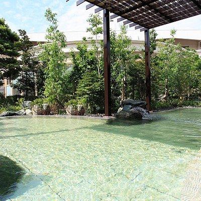 桧香の湯(露天風呂)