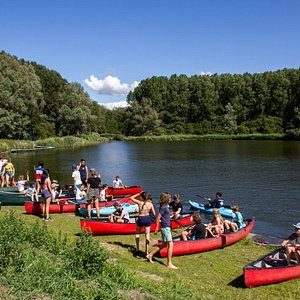You can do anything here. Canoeing. archery, stepping, mountain biking, eating. Really cool place.