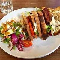 Finnegans' Own Club Sandwich