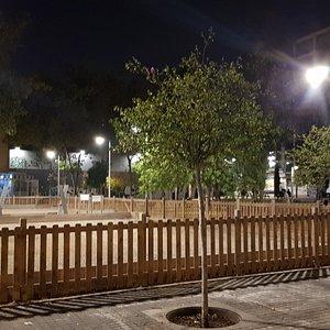 Barcelona, Jardins de les Tres Xemeneies, 30 d'octubre de 2019