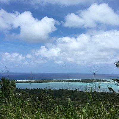 Piraki Lookout Aitutaki, Îles Cook