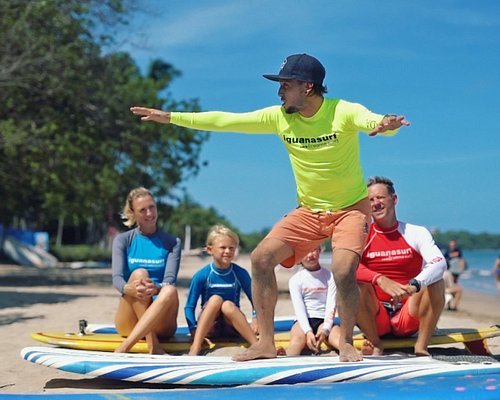 Daily Surf Lessons at 9am, 12 pm & 3 pm