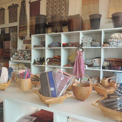 Produits de l'artisanat laotien chez Sanga Souvenir