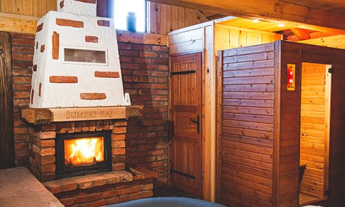 Your winter wellness experience starts right here. With a fireplace to keep you warm.  A sauna to make you hot, and a jacuzzy to cool you down.