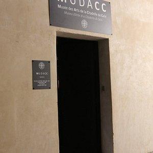 L'entrée de ce musée