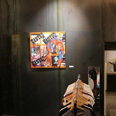 c'est un musée qui est dédié à l'Art contemporain
