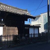 田村本陣の門