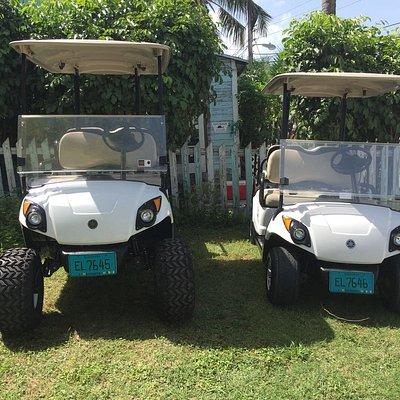 Kiplin Golf Cart Rentals Harbour Island Bahamas