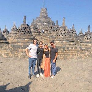 Borobudur Temple, The greatest Budhis temple in Java