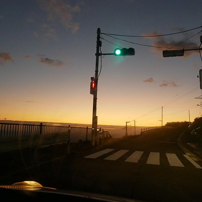 the only traffic light signal on the island01