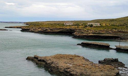 Circuito costero, zona ex frigorífico Swift,  Puerto San Julián Santa Cruz