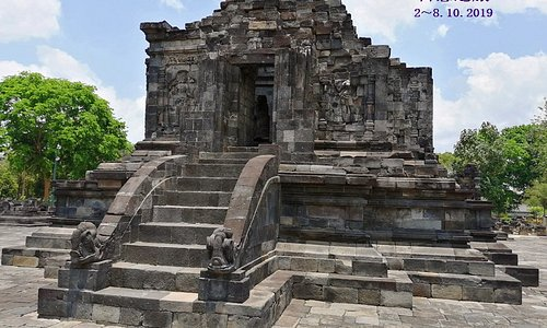 The main temple.