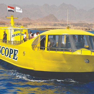 The Royal sea scope is the largest, smartest and most modern semi-submersibles in the red sea.
