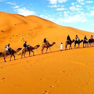 caravana to desert of erg chebbi