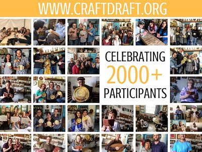 In 2019, Craft Draft hosted more than 2000 Participants from all over the world.
