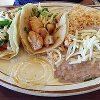 Grilled fish taco plate
