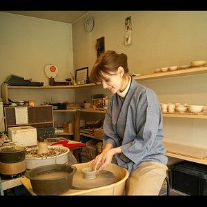 Pottery wheel experience