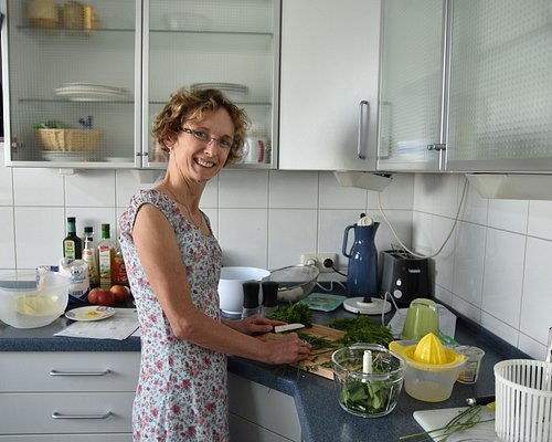 Private cooking class in Frankfurt with Christina