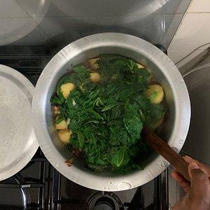 Authentic food in Nairobi