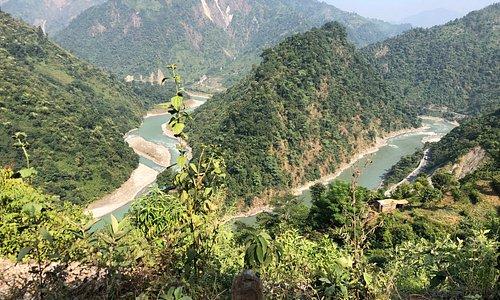 Trishuli River Dhovan