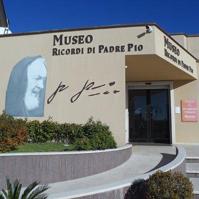 L'entrata al museo