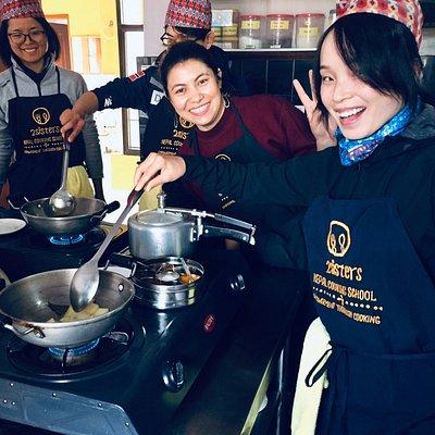 2Sisters Nepal Cooking School