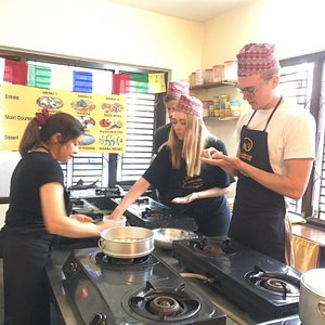 Sign up for the hands on cooking experience at 2sisters Nepal Cooking School. Learn to name authentic nepali cuisine.