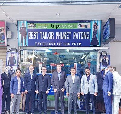 Best Tailor Phuket Patong Suit Shop
