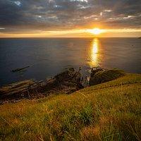 Siccar Point © Visit Berwickshire Coast