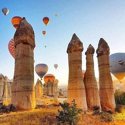 balloon festival monitoring tour between sunrise.