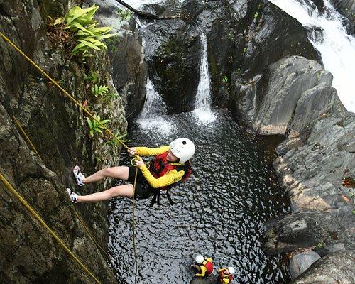 Abseiling at Triple-treat