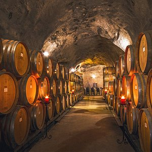 The largest wine cave in New Zealand.