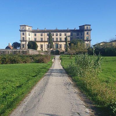 Villa Bellavista vista da dietro.