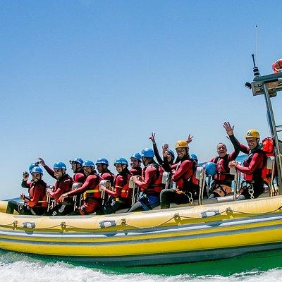 Coasteering + Speedboat