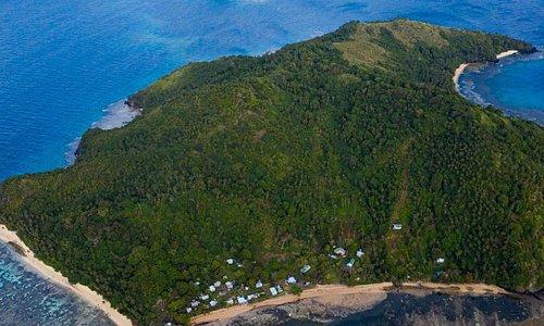Yanuca island North of Taveuini island  northern Fiji