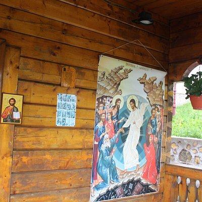 Straja wooden church