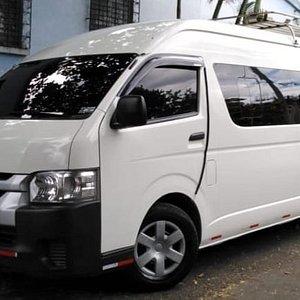 Van for 15 passengers