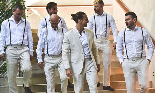 Linen Suit and Shirts for the Wedding!