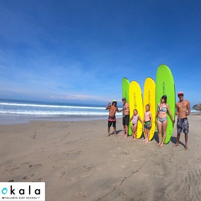 Surfing in family with Okala Surf School.  Special tours Book Now ! 🏄🏾♂️🌎🌀🌞🌴