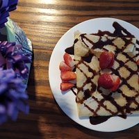 Real French crepe