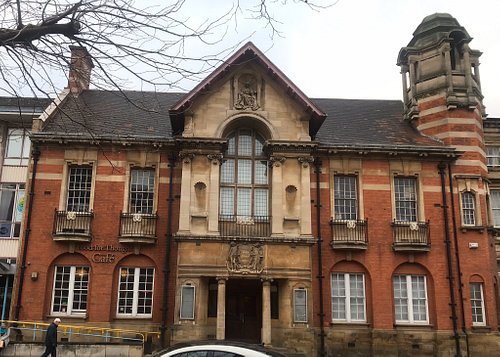 Old Library building