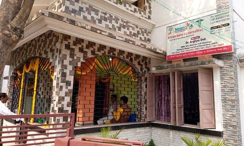 Entrance Neuroma Clinic and Diagnostics A-1/58 Kalyani, Nadia Near Kalyani station, Behind Hotel Regal star  Neurologist in Kalyani (Dr. Arghya Deb)