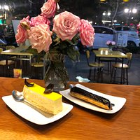 I went here few times during my stay in Hànoi . We had tried few cake shop  around but this was the best French cake i have ever try in Hanoi. I just feel in love witb this place tho...this is must try when you are here  👍👍😋😋😋