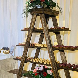 Wedding 12/21/19 Mandy & Kevin  Desserts provided by us.