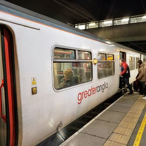 Greater Anglia, London, UK. Punctual, clean.