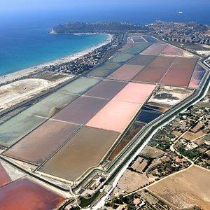 foto aerea delle saline